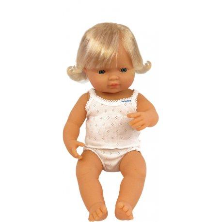 Lalka - europejska dziewczynka