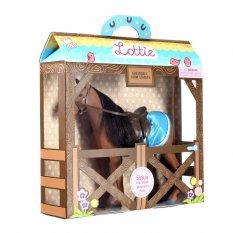 Koń Sirius do lalki Lottie