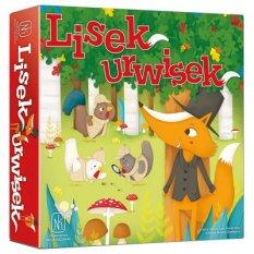 Lisek Urwisek gra planszowa