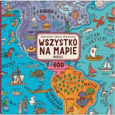 Wszystko na mapie. Puzzle