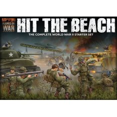 Hit the beach! Zestaw startowy do gry Flames of War ed. 4