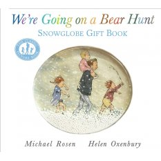 We're Going on a Bear Hunt: Snowglobe Gift Book