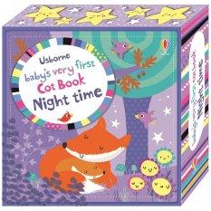 Pierwsza książeczka - baby's very first cot book: Night time Usborne