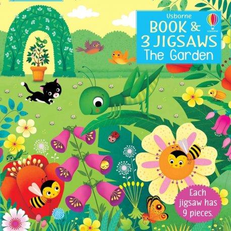 The Garden - książka i 9-elementowe układanki