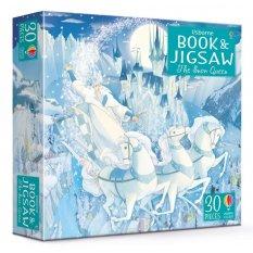 Królowa śniegu - książka i puzzle 30 el.