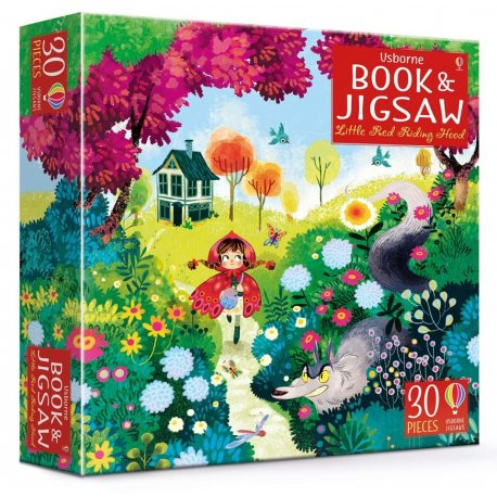 Czerwony Kapturek - książka i puzzle 30 el.