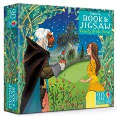 Piękna i Bestia - książka i puzzle 30 el.