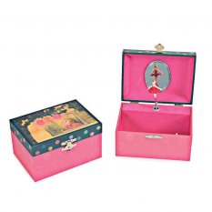 Pozytywka - szkatułka z baletnicą, Latarenki