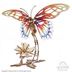 Motyl Model mechaniczny do składania
