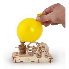 Silnik Pneumatyczny-Maszyna Parowa Model mechaniczny do składania
