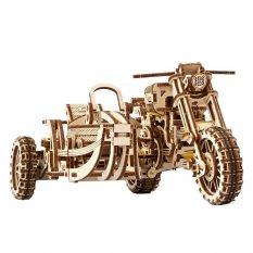 Motocykl z przyczepą - Scrambler UGR-10