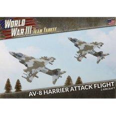 AV-8 Harrier Attack Flight (x2 Plastic)