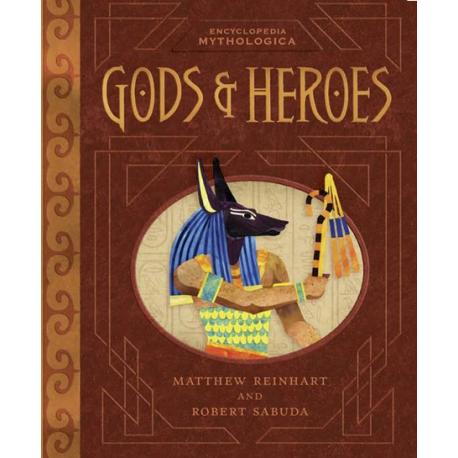 Gods and Heroes. Encyclopedia Mythologica Pop-up